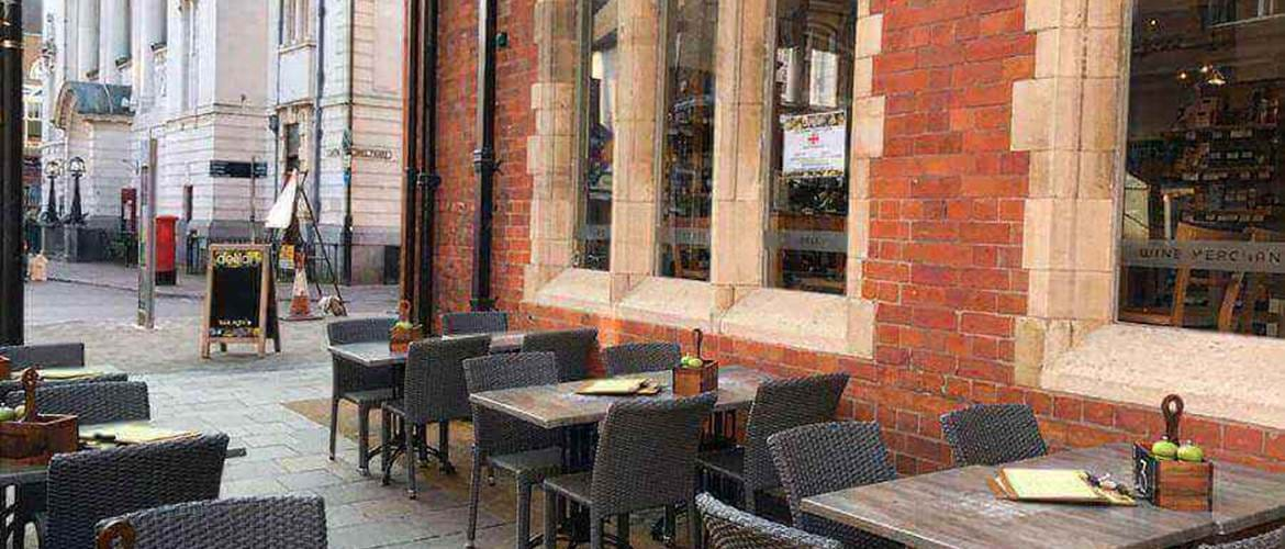 Outdoor Seating at Delilah Fine Foods