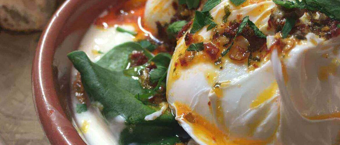 Turkish Eggs at Delilah Fine Foods