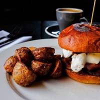 Breakfast Burger at Chop Bloc