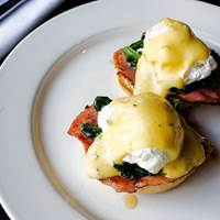 Eggs Benedict at Chop Bloc