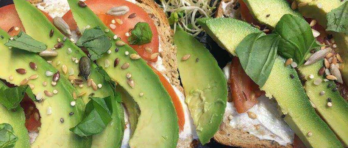 Avocado Toast at The Health Garden