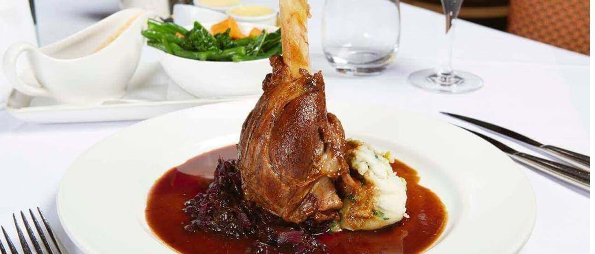 Lamb at The Barn Brasserie