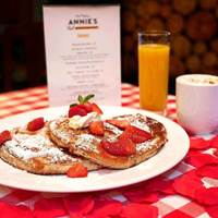 Pancakes at Annie's Burger Shack