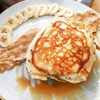 Peanut Butter Pancakes at The Pudding Pantry