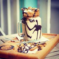 Vegan Freakshake at The Pudding Pantry
