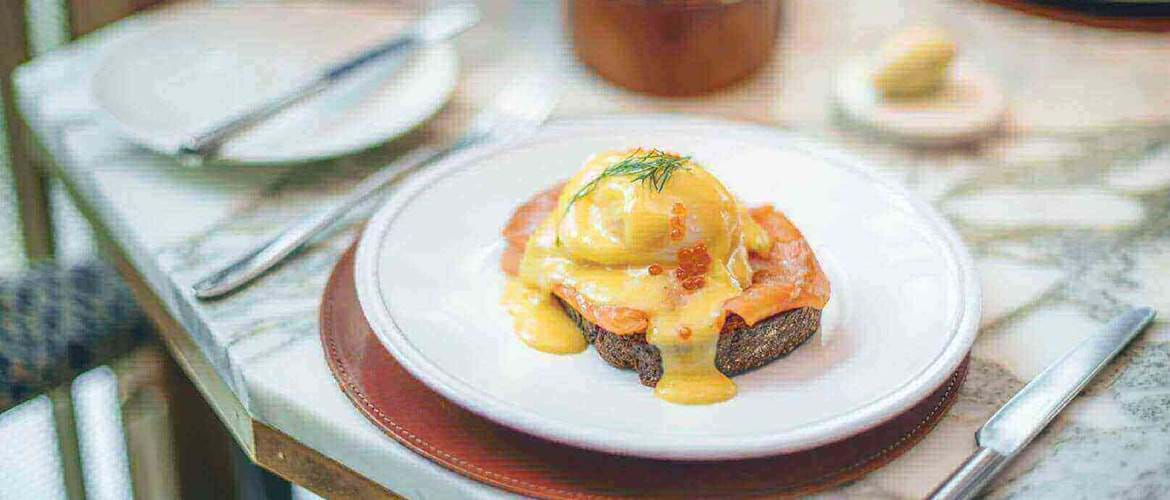 Eggs Royale at Aster