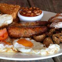 Full English at Oh So Social