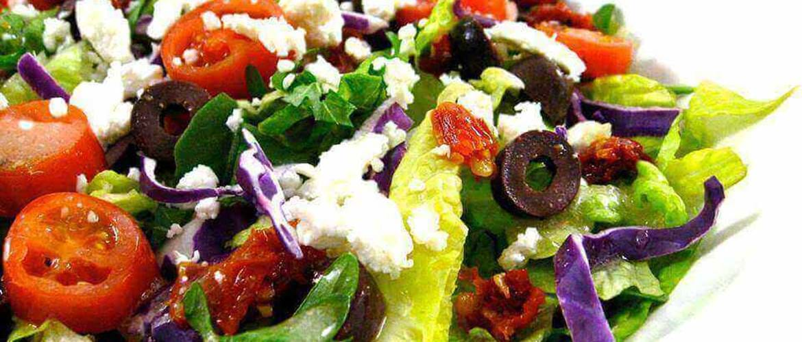 Greek Salad at Oh So Social