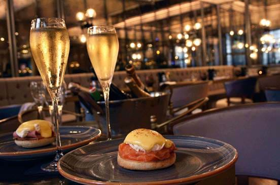 DUKES London Great British Restaurant does Jazz Bottomless Sunday Brunch