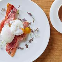 Bacon and Eggs at Harvey Nichols Birmingham
