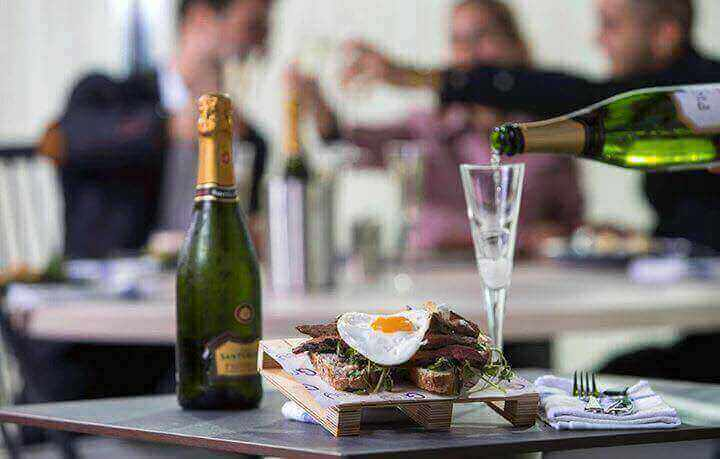Steak and Eggs with Bottomless Prosecco at Grey Cardiff