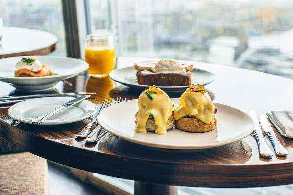 Weekday Breakfast with a view at aqua shard London