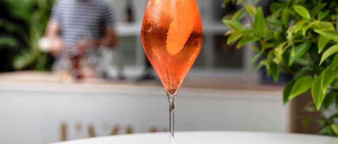 Aperol Spritz at Amaranto