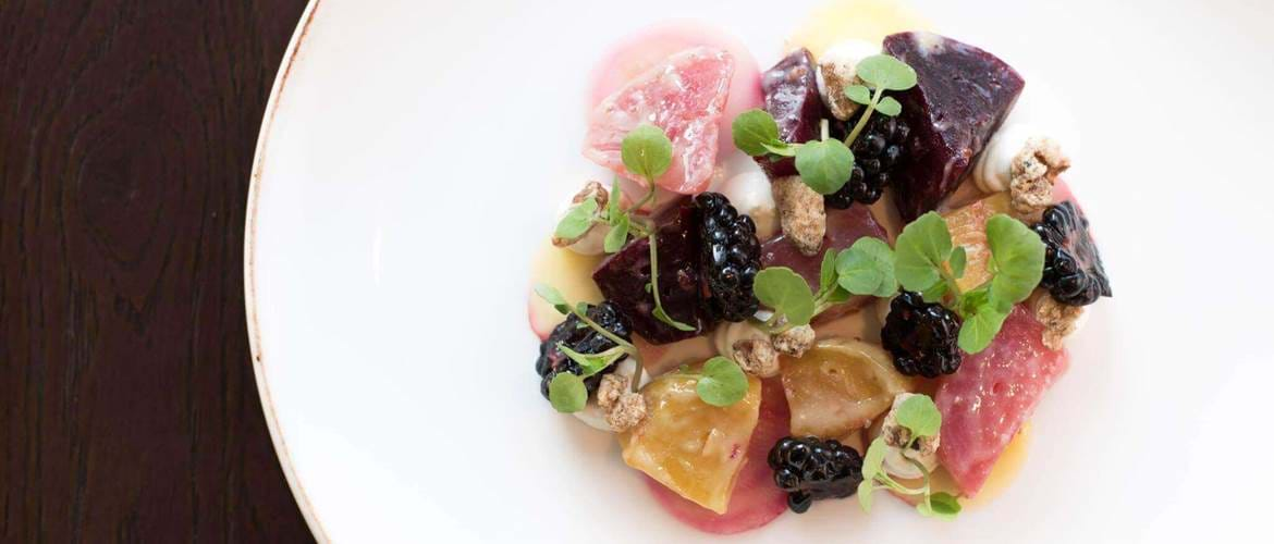 Beetroot Salad at The Aviary