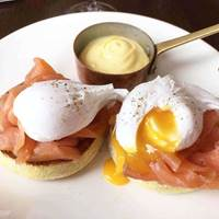 Eggs Royale at The Aviary