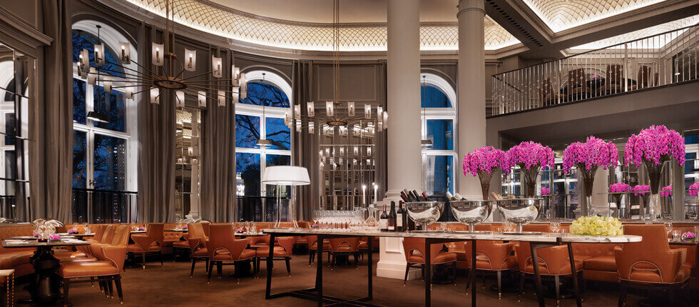 Interior and Restaurant at the Northall in The Corinthia, London