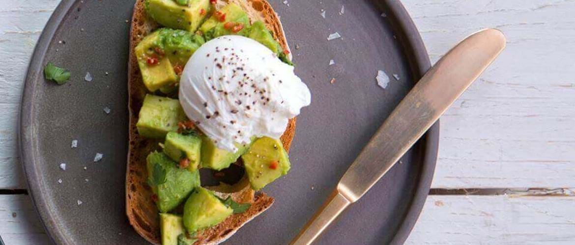 Avocado Toast at The Anthologist