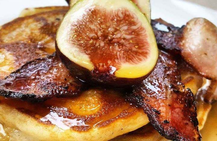 Fig Pancakes at The Alma Wandsworth