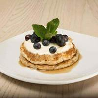 Creme Fraiche Pancakes at Urban Meadow Cafe and Bar