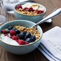 Smoothie Bowl at Blue Smoke on the Bay