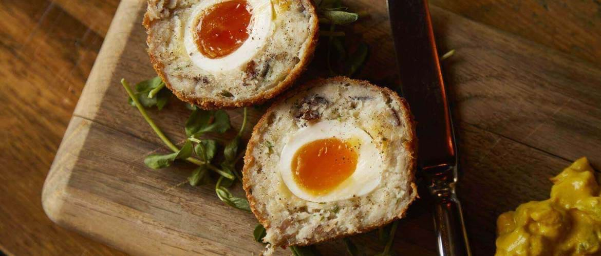 Scotch Egg at One Over the Ait