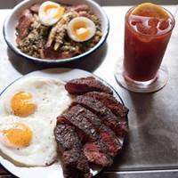 Steak and Eggs at Spuntino