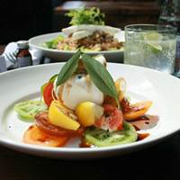 Burrata at Balans Soho Society