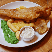 Fish and Chips at The Victoria