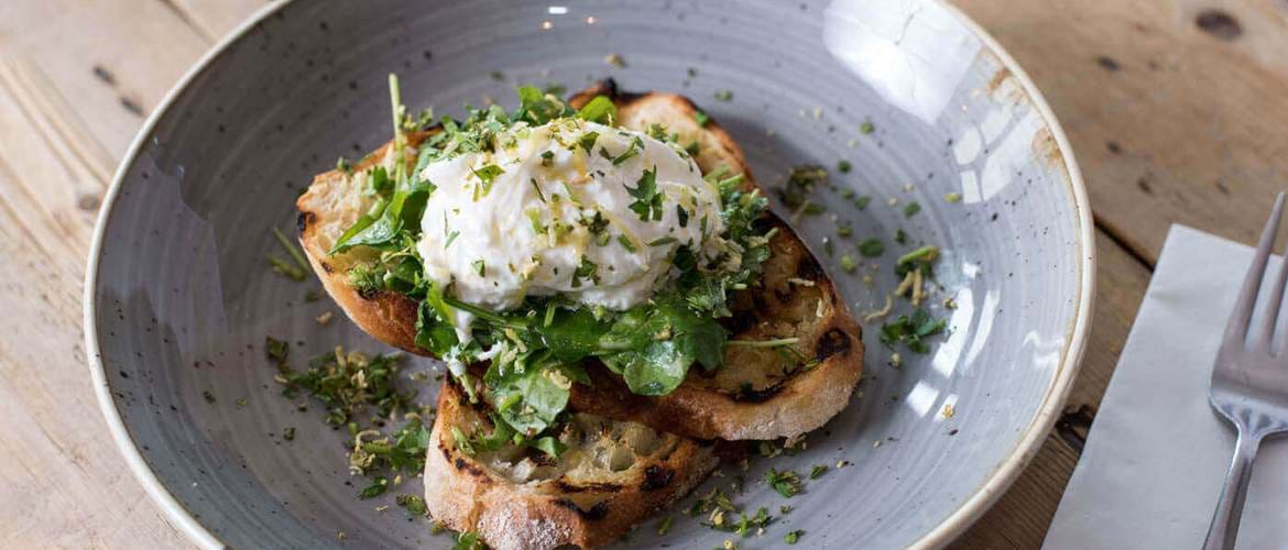 Poached Egg at The Clapham North