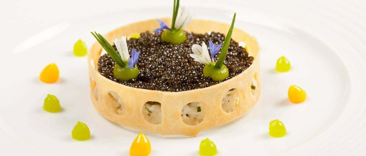 Caviar at The Ritz