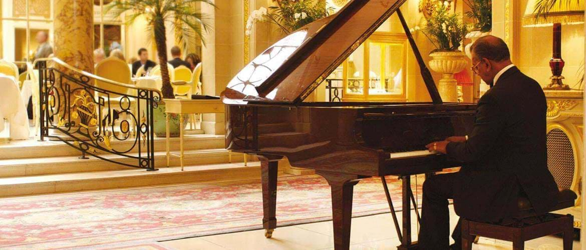 Grand Piano at The Ritz