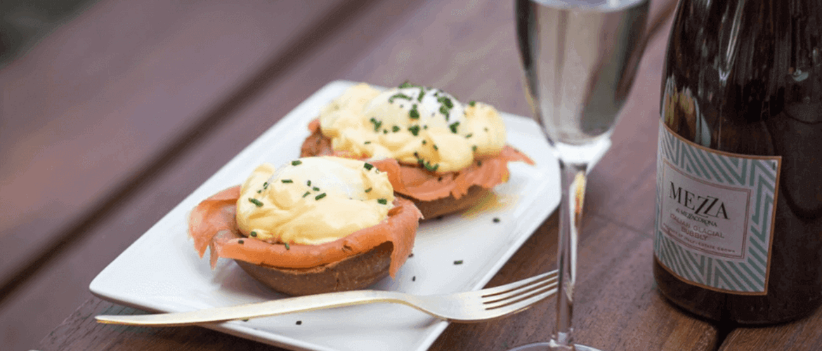 Eggs Royale at The Bishop
