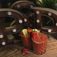 Bloody Marys at Pitcher and Piano