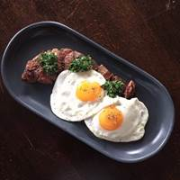Steak and Eggs at 28 West Bar