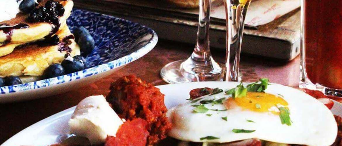 Brunch Dishes at Blues Kitchen