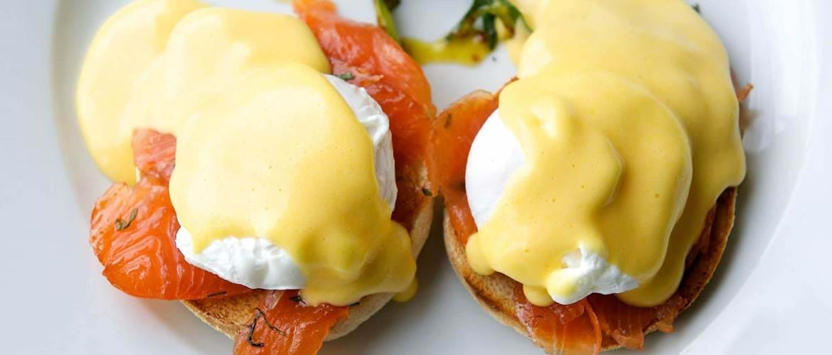 Eggs Royale at The Loose Box