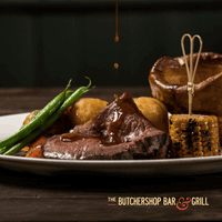 Sunday Roast at Butchershop Bar and Grill