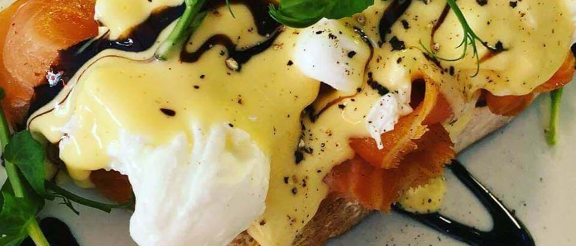 Eggs Royale at Juju's