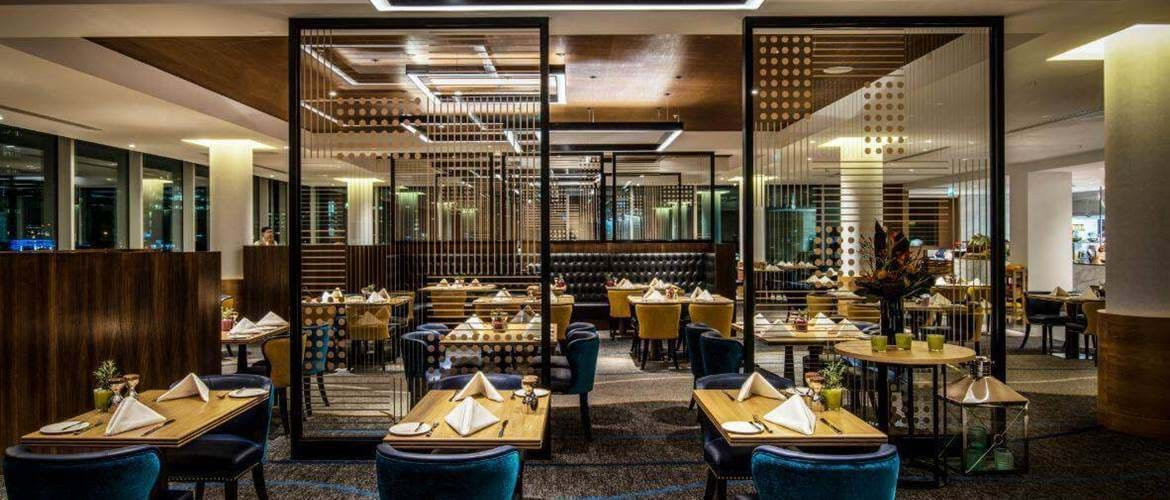 Dining at Market Brasserie at Intercontinental London