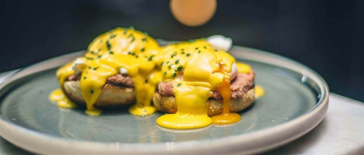 Eggs Benedict at Gaucho Birmingham