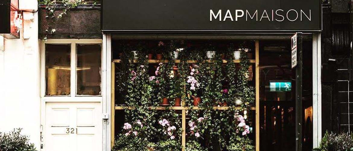 Entrance at MAP Maison