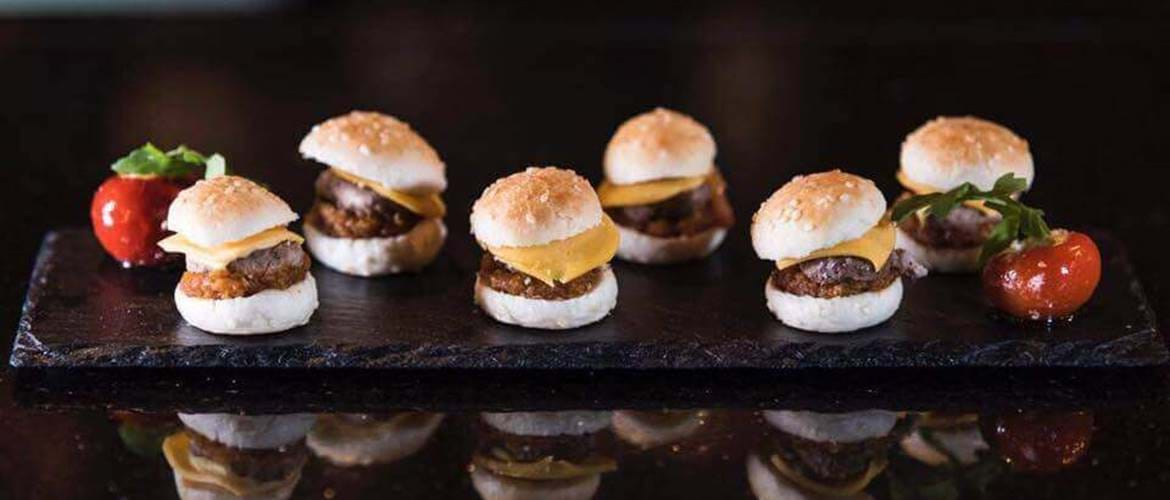 Sliders at MAP Maison