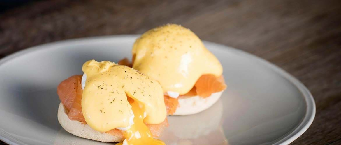 Eggs Royale at Swan, Shakespeare's Globe - London
