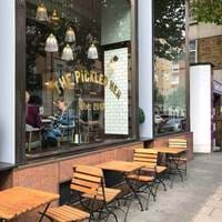 Outside at The Pickled Hen at London Marriott Marble Arch