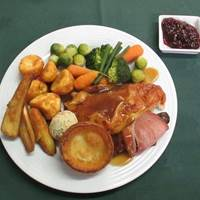 Sunday Roast at Orchard Garden Tea Room - Grantchester, Cambridge