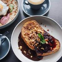 French Toast at Established Coffee - Belfast