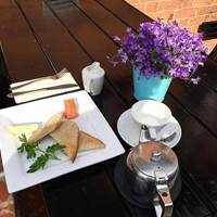 Outdoor Dining at Cafe Conor - Belfast