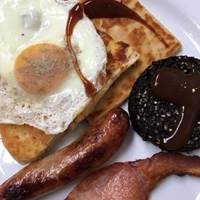 Breakfast at Cafe Conor - Belfast