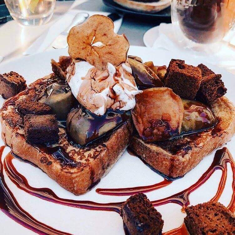 French Toast at Honeycomb & Co - Edinburgh, St Andrews Day