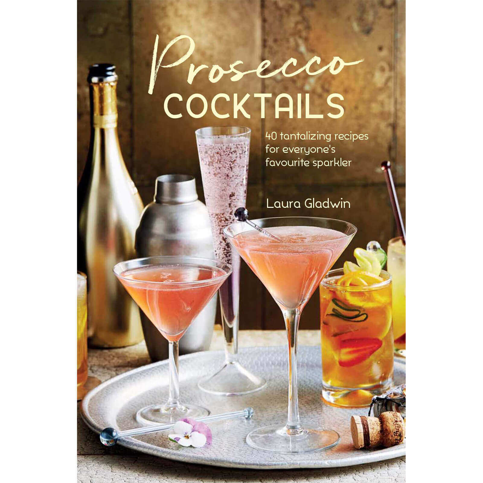 Bruncher's Foodie Christmas Gift Guide: Prosecco Cocktails Recipe book